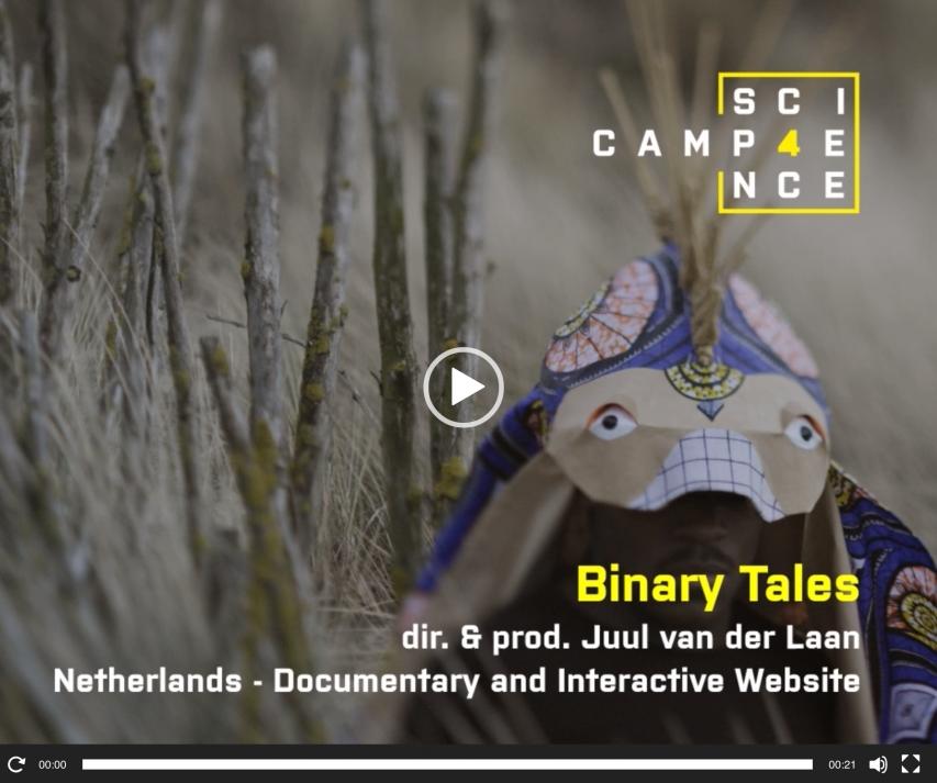 Binary Tales at Camp 4Science!